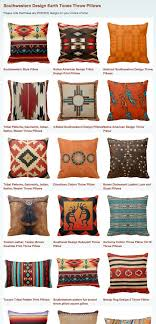 Southwestern Design Earth Tones Throw Pillows #southwestern #southwest # Decor #pillows