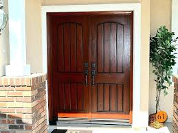 after aurora fiberglass double entry door model knotty alder grain with planking front doors for homes