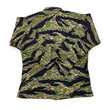 Tru Spec Jacket Sizing Chart Early 2000s Tru Spec Tiger Stripe Camo Bdu Jacket Depop