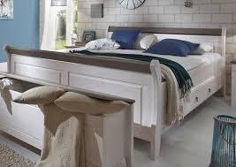 Schlafzimmer Weiß Grau Landhaus Richard Ii Komplett Schlafzimmer