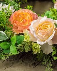 ... Arrangement English Garden Rose Wreath ...