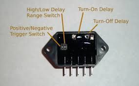 automotive time delay relay installation instructions time delay relay adjustments