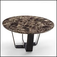 coffee table with base structure in
