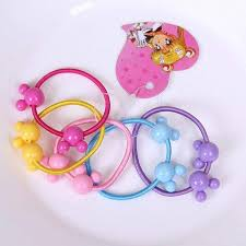 Girls' Accessories <b>50Pcs</b> Assorted <b>Elastic</b> Rubber Hair <b>Rope Band</b> ...