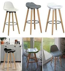 BAR <b>STOOL</b> WOODEN <b>chair</b> brand new beech solid wood bar pub ...