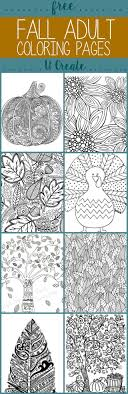 Free Fall Adult Coloring Pages U