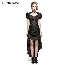 <b>PUNK RAVE</b> Women's <b>Steampunk Vintage</b> Metal tipped Rivet Floral ...