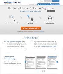 Resume Template 1 Online Cv Maker Builde Saneme