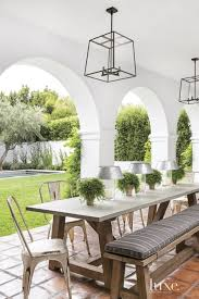 spanish style homes outdoor dining