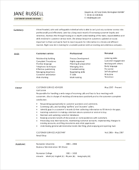 Best Customer Service Skills Resume Objective About Resume Ideas