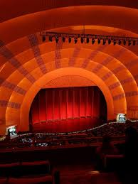 Radio City Music Hall 3d Seating Chart Radio City Music Hall Section 3rd Mezzanine 6 Row D Seat 601