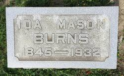 Ida Mason Burns (1845-1932) - Find A Grave Memorial