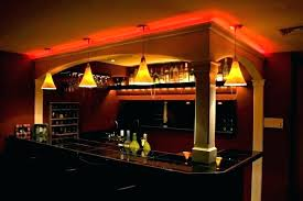Cool bar lighting Warm White Led Cool Bar Lighting Ideas Back Outdoor Lights Basement Decoration Synonym And Antonym Full Size Madisoncountyhealthus Decoration Basement Bar Lighting Ideas