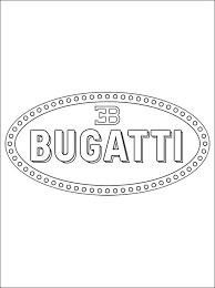 Bugatti Logo Kleurplaat Auto Electrical Wiring Diagram