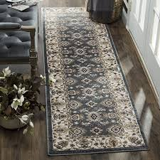 safavieh lyndhurst collection lnh332t traditional oriental teal and cream runner 2 3