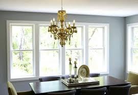 smoke crystal chandelier luxury jewel 5 light grey