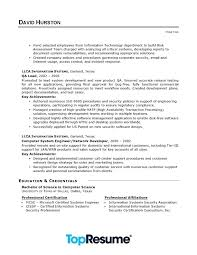 Resume Examples For Executives Extraordinary Information Technology Director Resume Kappalab