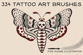334 Tattoo Art Brushes