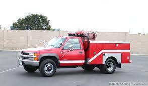 1997 Chevrolet 3500 4x4 Fire Brush Truck for sale - YouTube