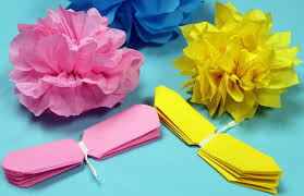 Paper Flower Making Video Paper Flower Making Videos Watch How To Make Tissue Paper Flowers