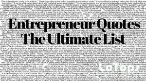 Entrepreneur Quotes The Ultimate List LoTops Easy CRM Adorable Entrepreneur Quotes