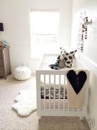 white sheepskin rug for nursery thenurseries