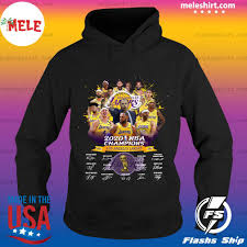Cheer for the lake show and celebrate your lakers with premium los angeles lakers hats and apparel. 2020 Nba Champions Los Angeles Lakers Signatures Shirt Hoodie Sweater Long Sleeve And Tank Top