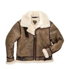 b 3 hooded sheepskin er jacket
