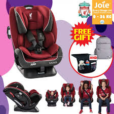 liverpool series joie every stage fx lfc car seat red liverbird foc messy mat seat protector and princeton urban diaper bag