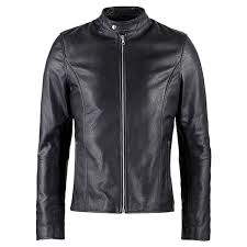 vearfit fransco black leather jacket