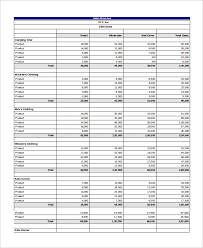 sales report example excel sales report template 12 free excel document download free