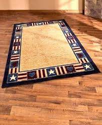 patriotic area rug x country rustic primitive cabin lodge farm rugs themed