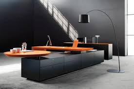 contemporary dark wood office desk. Exellent Desk Image Of Modern Office Desks Decor In Contemporary Dark Wood Desk