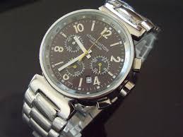 louis vuitton tambour quartz chronograph brown ss men watch louis vuitton tambour quartz chronograph brown ss men watch jewellery watches on at cqout online auctions