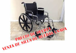 ortopedia vende silla de ruedas precio de oferta