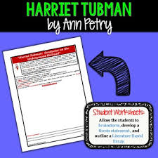tubman conductor underground railroad text evidence expository  harriet tubman conductor underground railroad text evidence expository writing