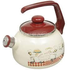 <b>Чайник эмалированный</b> Metrot 120074 Повара <b>со свистком</b>, 2.5 л ...