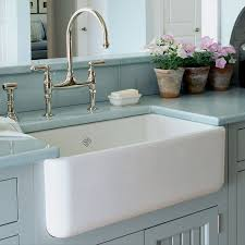 Fireclay Sink Reviews traditional kitchen faucets 6952 by uwakikaiketsu.us