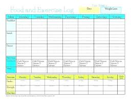 Diet And Exercise Journal Printable Journal Sheet Template Naomijorge Co
