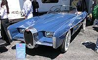 The cars were known for their design beauty and for their many race victories. 1965 Bugatti Type101c Exner
