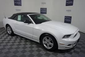 ford mustang convertible white. used 2014 ford mustang convertible v6 for sale in hillsboro or white n