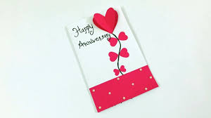anniversary card tutorial diy anniversary card handmade anniversary card making