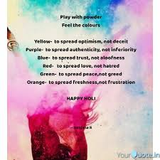 Optimism Quotes New Play With Powder Feel The Quotes Writings By Sanjana R