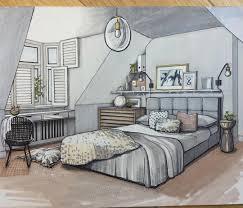 interior design bedroom drawings.  Drawings 09BedroomMalcolmBeggInteriorDesignDrawingsof To Interior Design Bedroom Drawings G