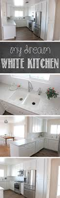 For Remodeling Kitchen My Dream White Kitchen Glorious Treats