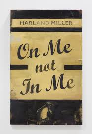 Harland Miller, On Me Not In Me, 2015 | Ingleby Gallery
