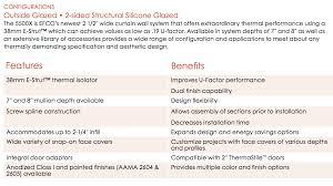 Xtherm System 5500x Sliding Glass Doors Zero Docs