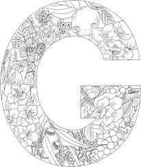 Letter G Kleurplaat Gratis Kleurplaten Printen