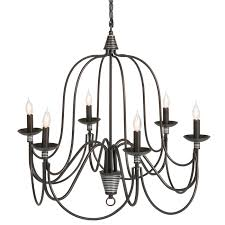 best choice s home 6 light ceiling candle chandelier hanging fixture w bronze finish
