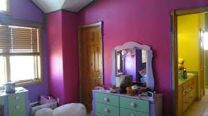 Green And Purple Room Rooms Painted Purple And Green House Design Ideas